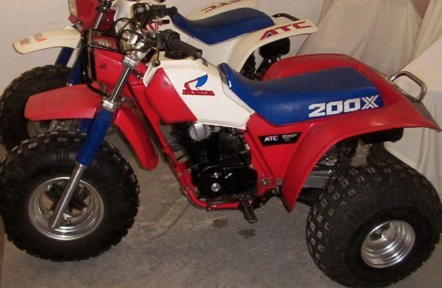 Honda 200x My Last Three Wheeler Side By Side