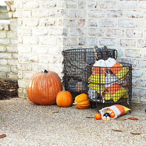 Wisteria - Holiday - Fall Harvest - Halloween Clearance -  Candy Corn Party Sacks - Set of 12 - $18.00