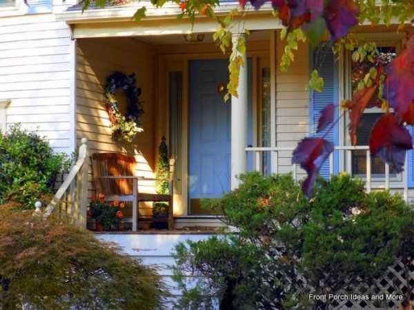 autumn porch decorations | Front Porch Appeal Newsletter November 2016 | Autumn Porch Edition ...