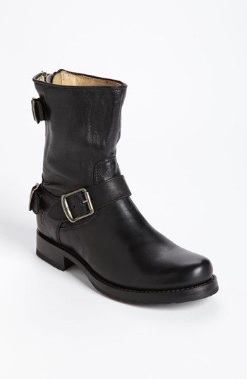 Adding to my growing Frye collection... Frye 'Veronica' Back Zip Short Boot available at #Nordstrom