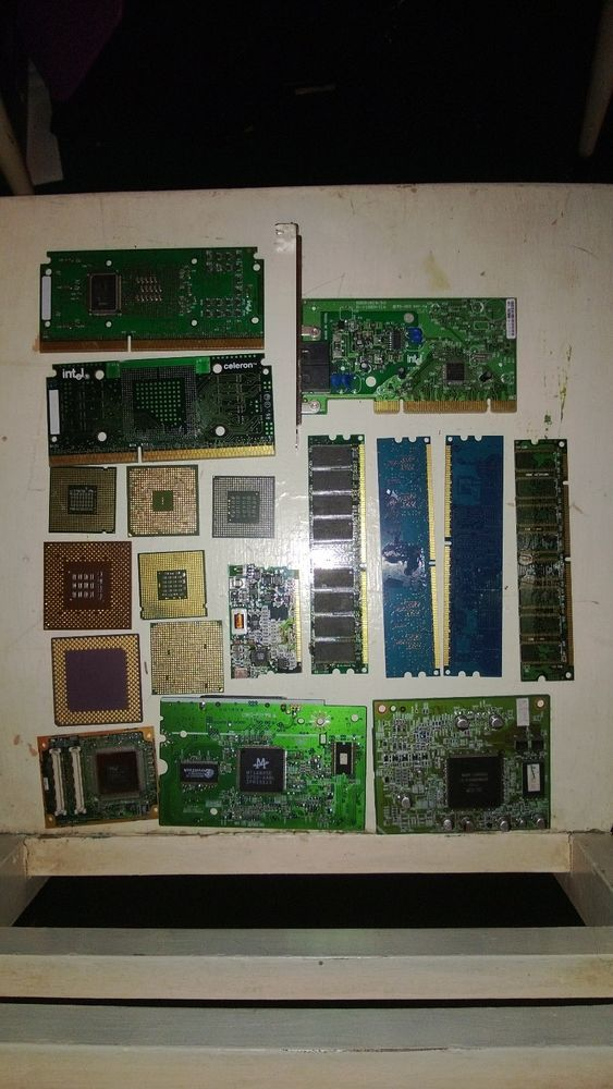 77 Lbs Scrap High Grade Circuit Boards For Scrap Gold Recovery Ebay