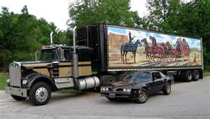The Snowman and the Bandit back together.: Smokey, Big Rigs, Movies, Wheels, Snowman, Bandit, Movie Cars, East Bound, Big Trucks