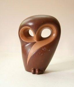 Beautiful vintage owl figurine