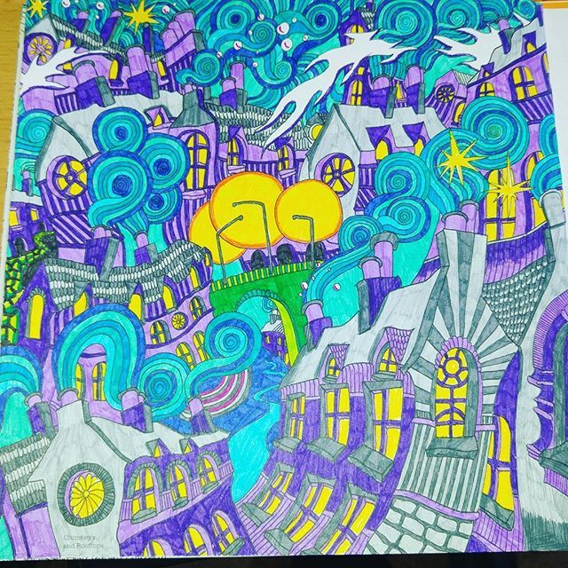 Themagicalcity Stabilo Lizziemarycullen Stabilopoint88 Colored Pencil DrawingsColored PencilsMagical ChristmasAdult ColoringColoring