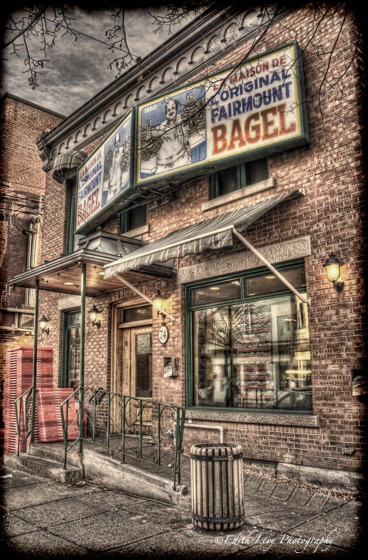 Fairmount Bagel іs а Montreal-style bagel bakery іn Montreal, Quebec, Canada. Іt іs located оn Fairmount Avenue іn the Mile End neighbourhood оf the Plateau-Mont-Royal borough.
