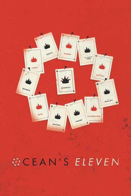 Ocean's 11 - movie poster - Matt Chase | Design: Movies ...