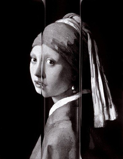 The Cylinder, from the series After Vermeer photo: Paul Kilsby #vermeer #paulkilsby #nickyakehurst