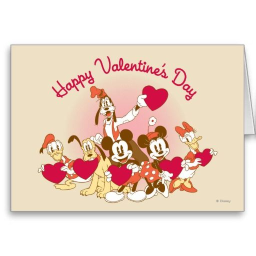 13 best images about Disney Valentines Day – Valentine Greeting Cards for Friends