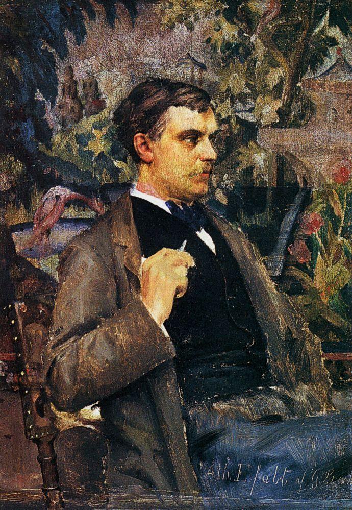 GUNNAR BERNDTSON Albert Edelfelt (1880)