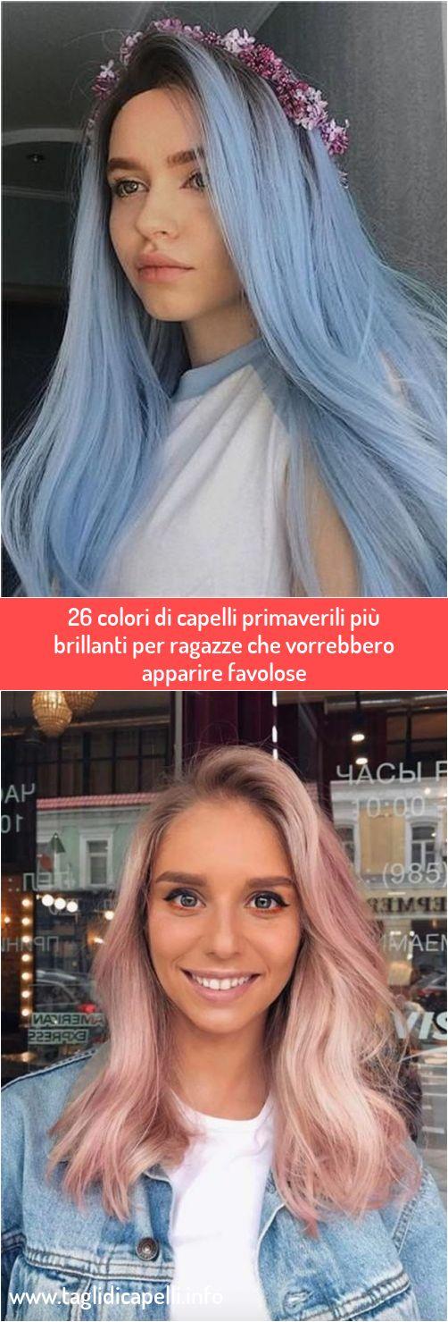 26 colori di capelli primaverili più brillanti per ragazze ...
