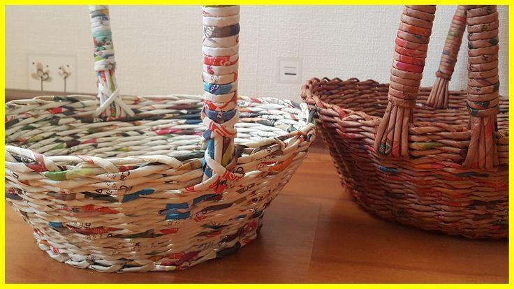 Плетение из газет - делаем ручку. Подробный МК для начинающих!