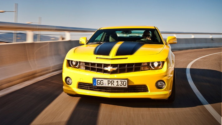 """Famous cars - Chevrolet Camaro Bumblebee """"Transformers"""""""