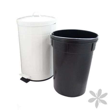 Retro cubo de basura de dise o retro se convertir - Cubos de basura extraibles ...