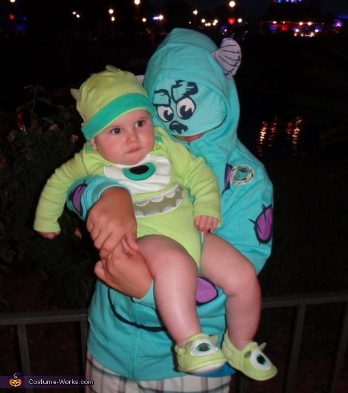 Sulley & Mike from Monsters Inc. - 2013 Halloween Costume Contest