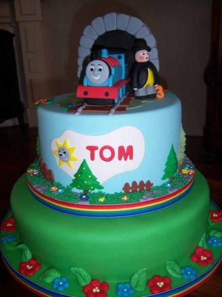 Thomas train  Cake by Ria123