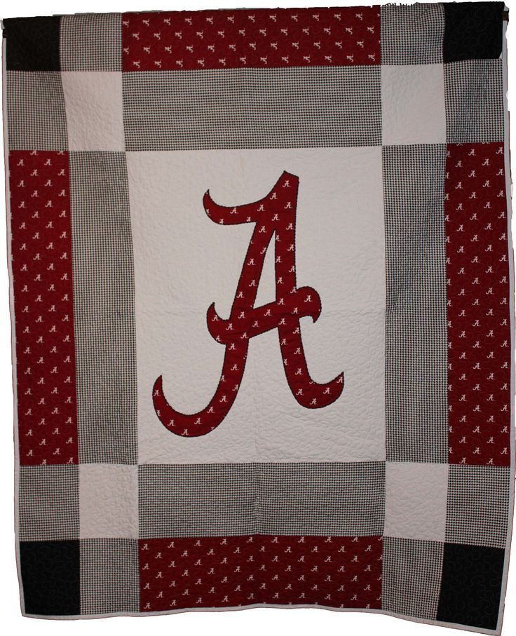Alabama Quilt Queen Size by QuiltsbyCaron on Etsy