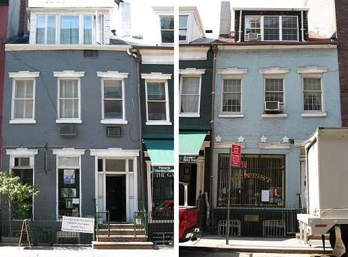 Colors To Painted Brick Row House Google Search