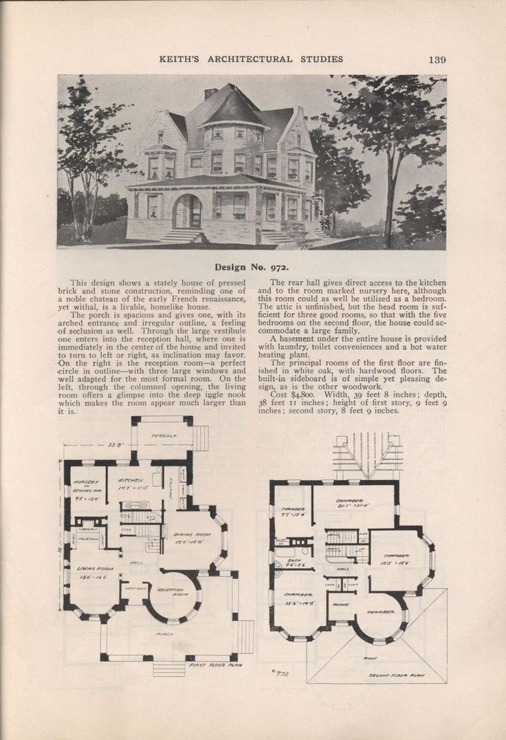 4125 best images about architectural drawings on pinterest for Antique house plans