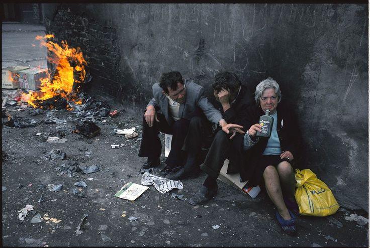 Raymond Depardon - Glasgow, 1980.