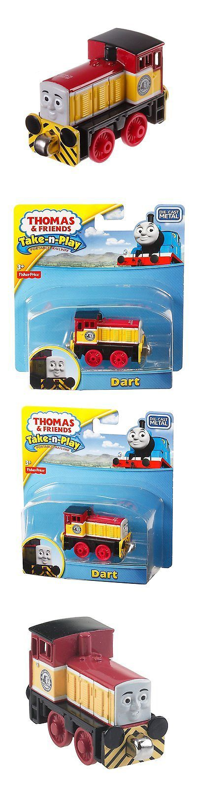 Other Thomas Toys 2629: Fisher-Price Thomas The Train Take-N-Play Dart -> BUY IT NOW ONLY: $31.82 on eBay!