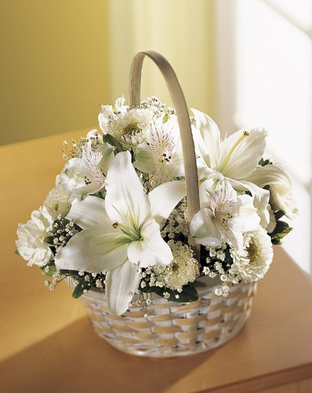 Sympathy Flower Baskets Delivery : Best images about funeral baskets on floral