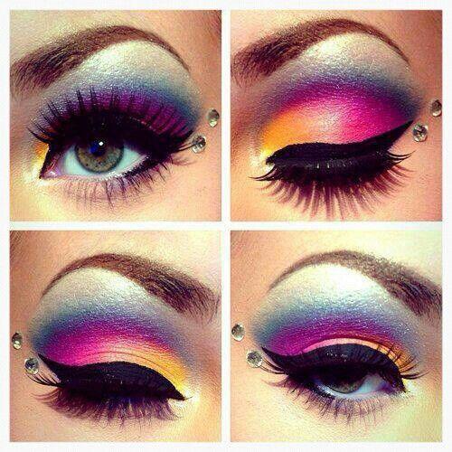 maquillaje de fantasia!