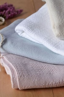 Pure organic cotton baby blankets.