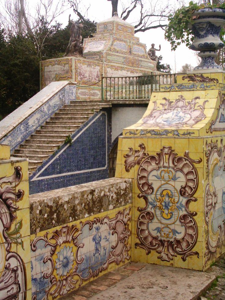 Azulejos Palácio Queluz