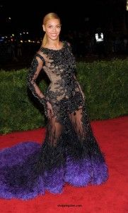 The Top Trends From the Met Gala 2012 Red Carpet- Beyoncé in Givenchy