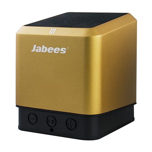 Jabees QUBIC bluetooth Stereo högtalare QUBIC.TWS-Gold - http://www.satvision.se/jabees-qubic-bluetooth-stereo-hogtalare-qubictwsgold-p-815.html