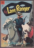 THE LONE RANGER #72 Dell WESTERN comic book 1954 GOLDEN AGE