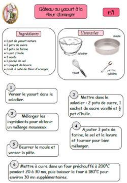 Plus de 1000 id es propos de petite section maternelle - 750g fiche de cuisine ...