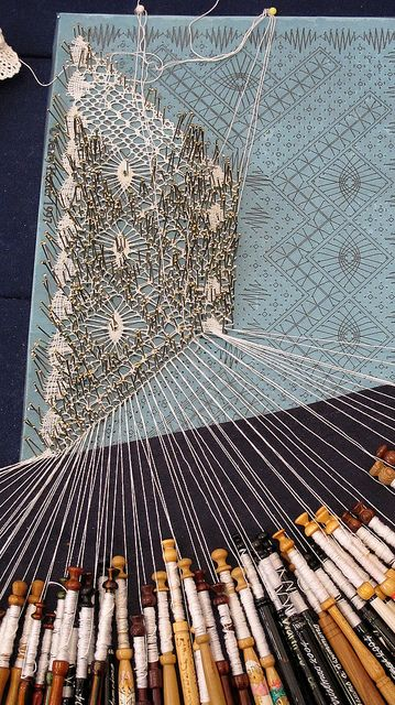 Lace making