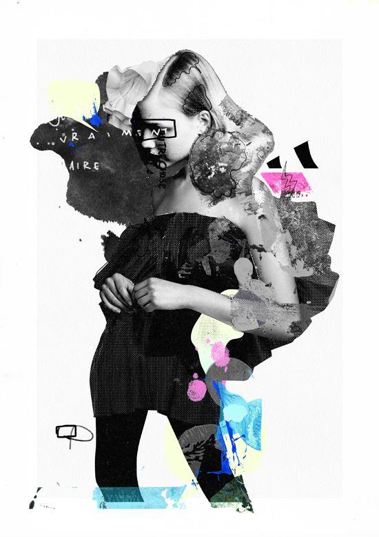 Los collages e ilustraciones de Raphael Vicenzi | OLDSKULL