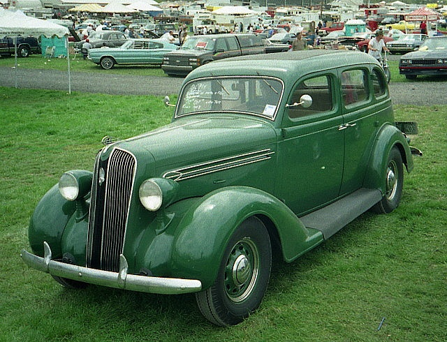 1936 plymouth 4 door sedan by splattergraphics via flickr for 1936 dodge 4 door sedan