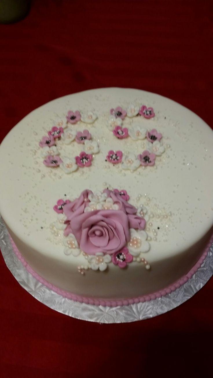 65th birthday cake Sherry 2017