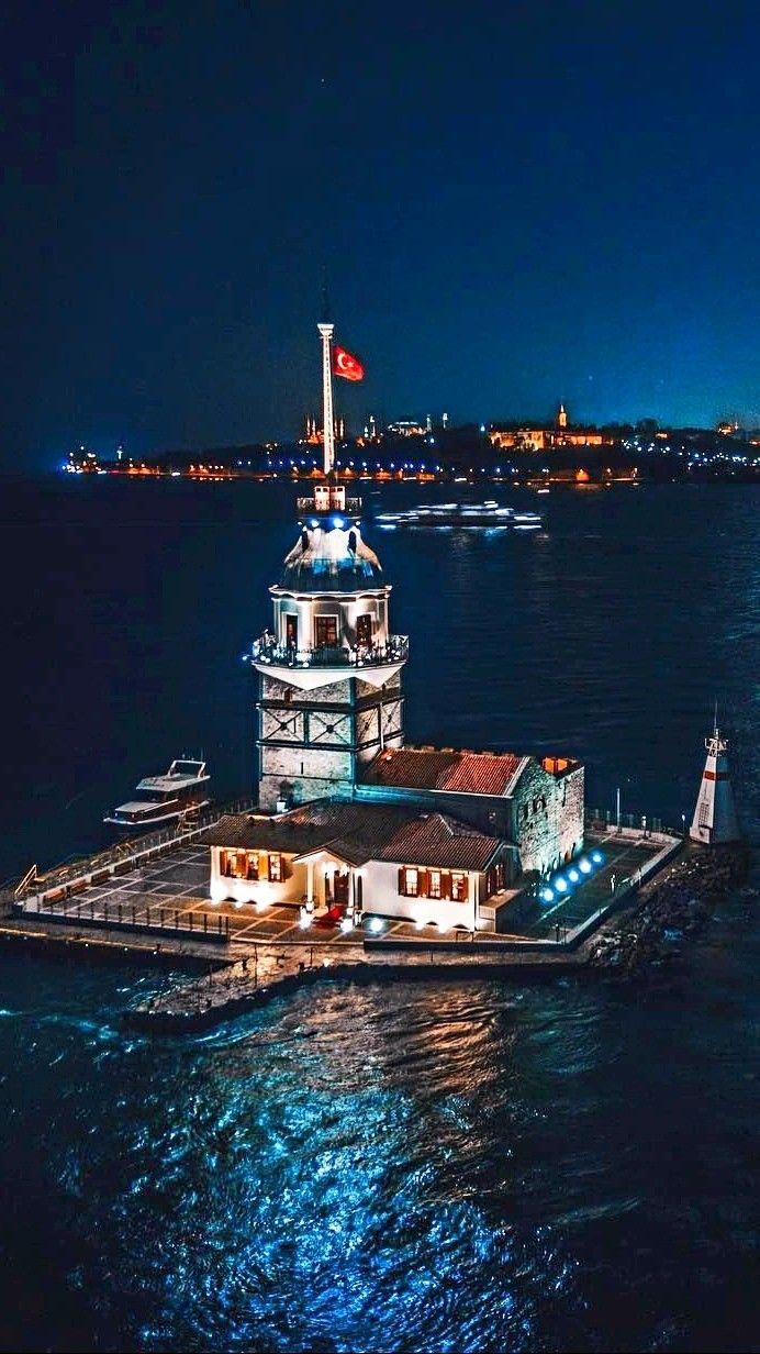 Kız Kulesi,Üsküdar-İstanbul #istanbul #dünyanın #en #güzel #şehri |  Seyahat, Istanbul, Seyahat fotoğrafları