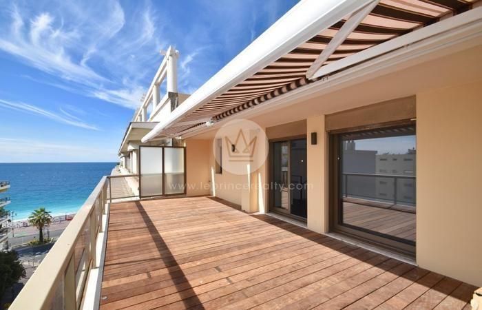 Rare! #vente #Nice06 Promenade des Anglais F4 100m2 + terrasse 60m2 #VueMer présenté par notre partenaire Le Prince #immobilier #RealEstate sur notre site http://www.evidence-immobiliere.com/immobilier/vente/appartement/nice/annonce_13563772/