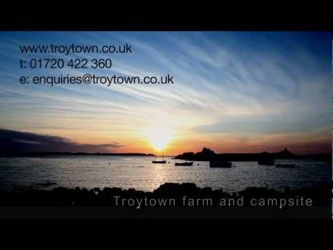 Isles of Scilly Camping and Self Catering Accommodation at Troytown Farm St Agnes, Scilly