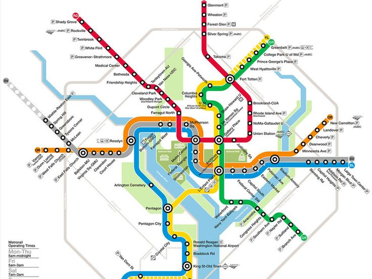 Navigating Washington, DC with Metro | Washington.org