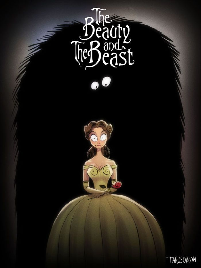 The Beauty And The Beast, Directed By Tim Burton