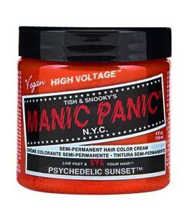 TINTE DE PELO NARANJA MANIC PANIC CLASSIC PSYCHEDELIC SUNSET