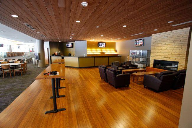 Don James Center, Husky stadium Comfy seats for Em Chpt 32 A