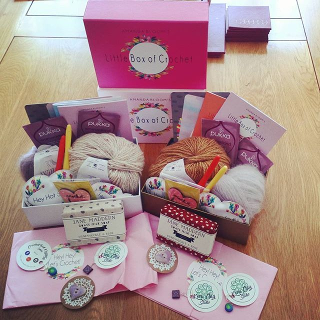 Oh my gosh! This truly is what you call Happy Mail. @littleboxofcrochet thank you so much! These Lucky Dip boxes are a true delight. And they arrived so quickly too. Smiles. Mt own little piece of paradise!  #littleboxofcrochet #subscriptionbox #yarnlove #yarnlover #crochet #crochetersofinsta #crochetersofinstagram