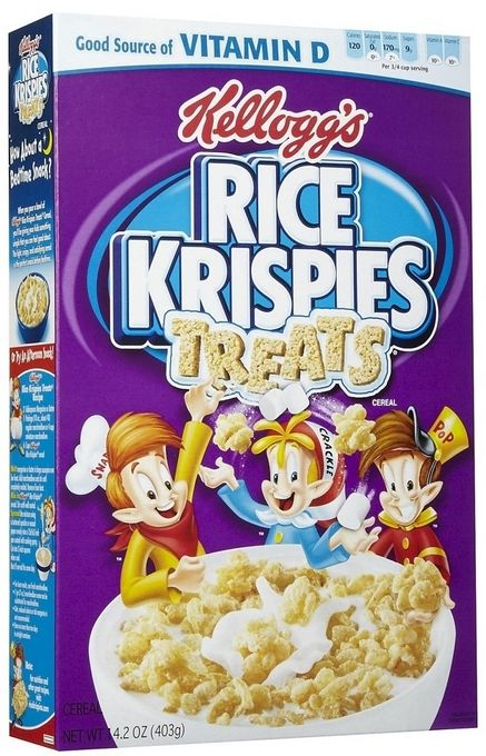 Foods From Your Childhood That Sadly No Longer Exist - Rice Krispies Treats Cereal