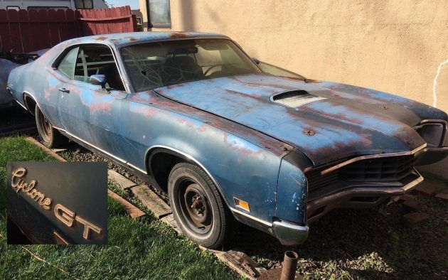 429! Four-Speed! 1971 Mercury Montego Cyclone GT #BarnFinds #Mercury, #V8 - https://barnfinds.com/429-four-speed-1971-mercury-montego-cyclone-gt/