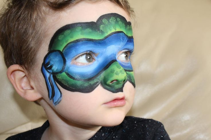 28 best TMNT Face Painting images on Pinterest | Face ...