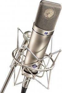 Neumann U87 http://ehomerecordingstudio.com/best-condenser-mics/