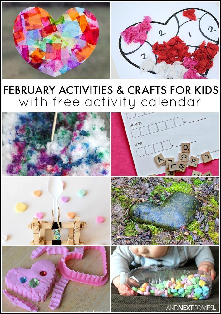 Calendar Craft Ideas For Kids : Ideas about february calendar on pinterest