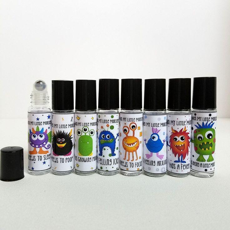 Essential Oil Labels, Mom Labels, Kids labels For Essential Oils, Metal Rollerballs, Roller bottle Labels For Kids, Cute Essential Oil Label by OilyRaggs on Etsy